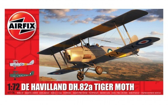 tiger - NEWS AIRFIX De Havilland DH.82a Tiger Moth 1:72 A0210610