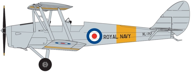 tiger - NEWS AIRFIX De Havilland DH.82a Tiger Moth 1:72 A0210611