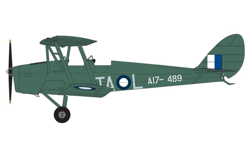 tiger - NEWS AIRFIX De Havilland DH.82a Tiger Moth 1:72 A0210612