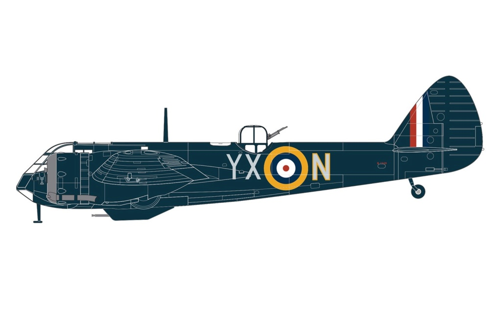 NEWS AIRFIX Bristol Blenheim Mk.IF 1:48 A0918610