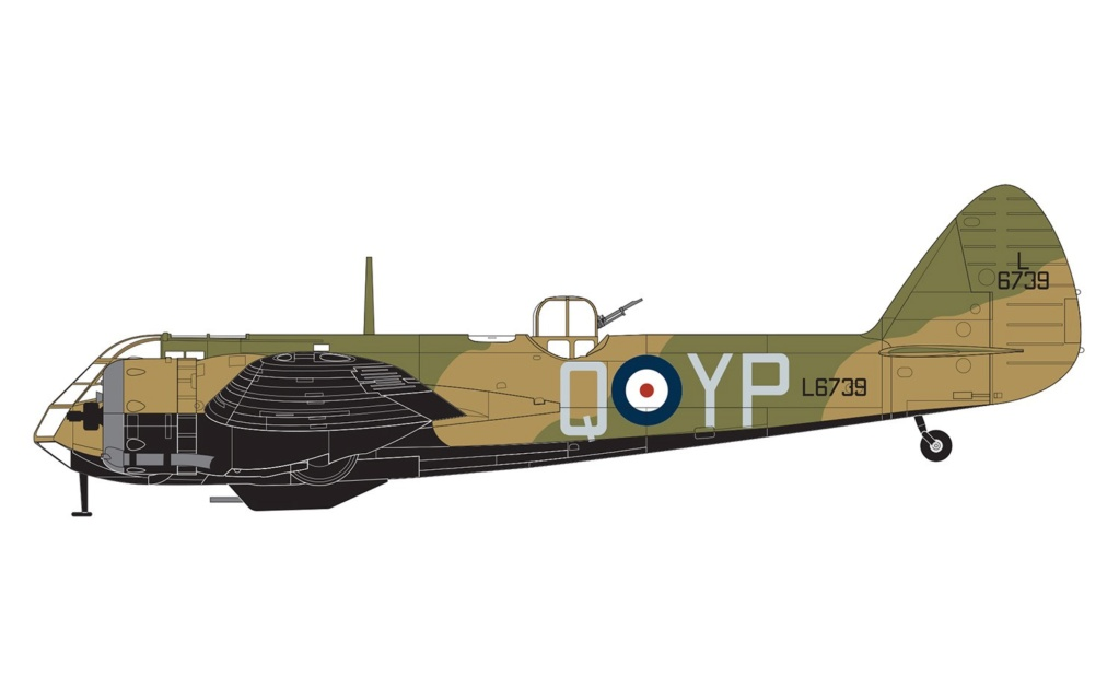 NEWS AIRFIX Bristol Blenheim Mk.IF 1:48 A0918611