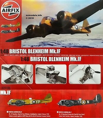 NEWS AIRFIX Bristol Blenheim Mk.IF 1:48 Airfix10