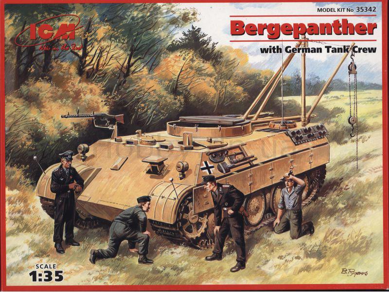 Jagdpanther Tamiya (char fini) 1/35 - Page 2 Icm35310