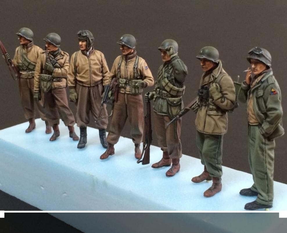 Figurines us tank et peintures accessoires Img_2060