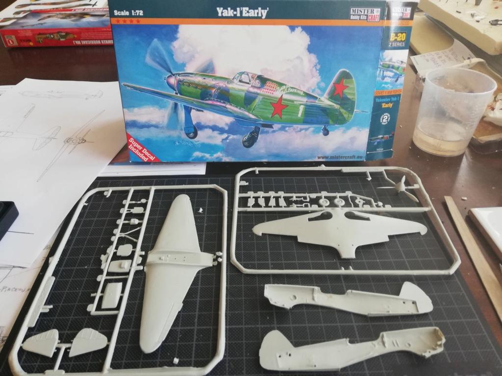 """YAK-1 """"early"""" produit avec des moules dignes de Tchernobyl... - Mister Craft - 1/72 Img_2104"""