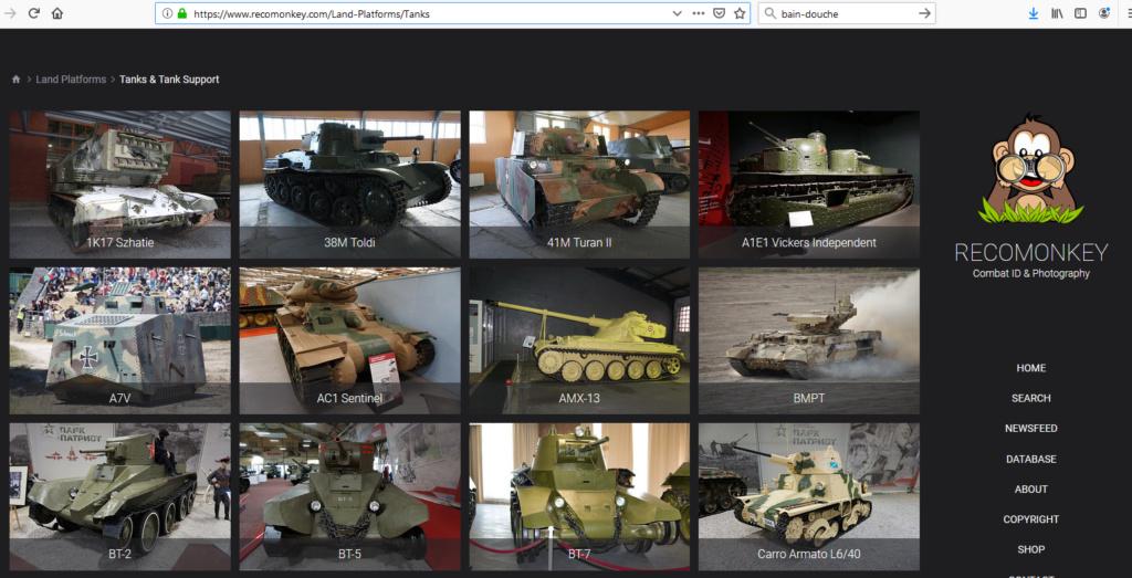 Lien pour détails de véhicules blindés Recomo11