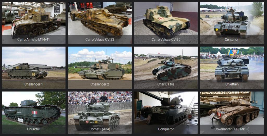 Lien pour détails de véhicules blindés Reconm22