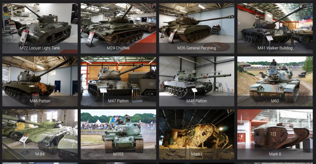 Lien pour détails de véhicules blindés Reconm23