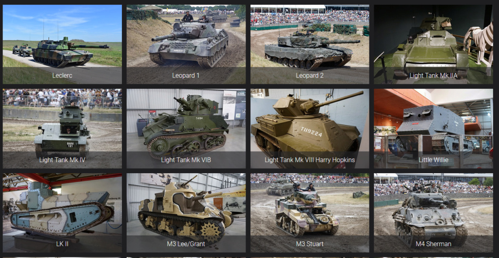 Lien pour détails de véhicules blindés Reconm25