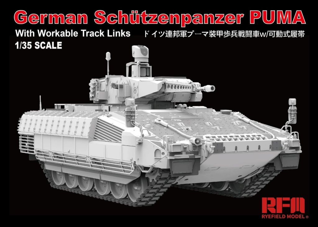 News RFM German Schützenpanzer Puma Rye Field Model - Nr. RM-5021 - 1:35 Rye20f10