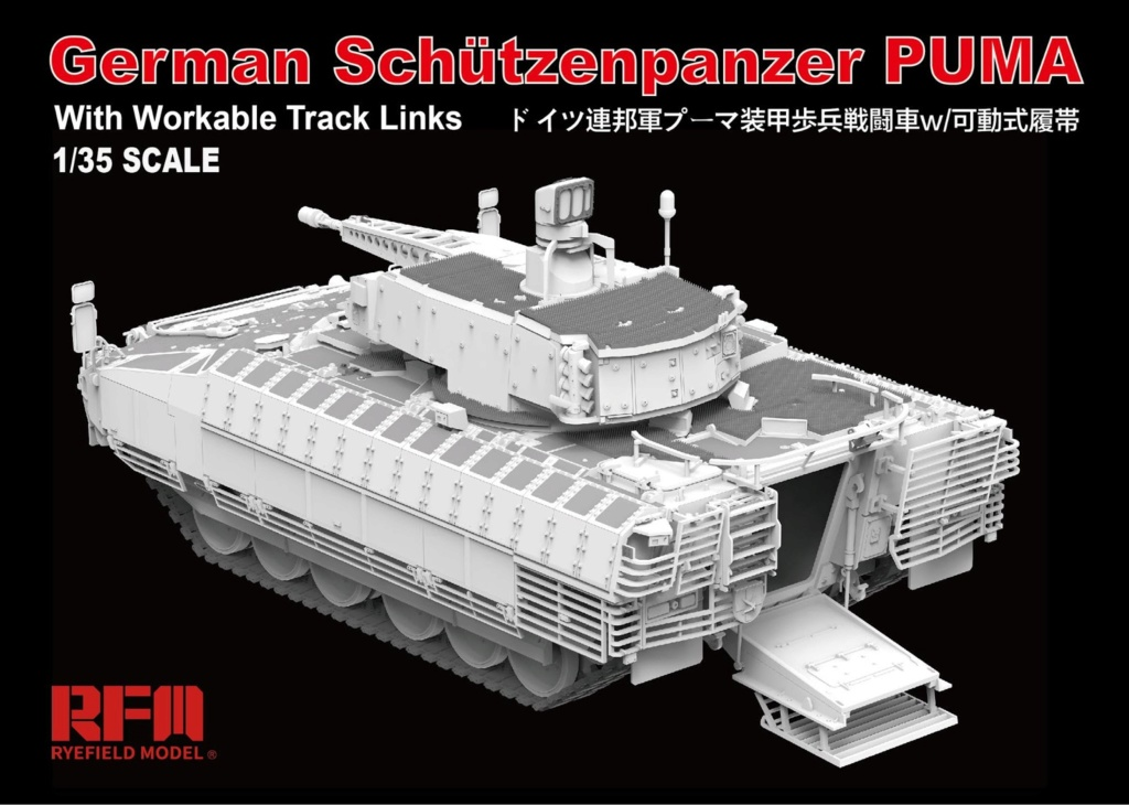 News RFM German Schützenpanzer Puma Rye Field Model - Nr. RM-5021 - 1:35 Rye20f11