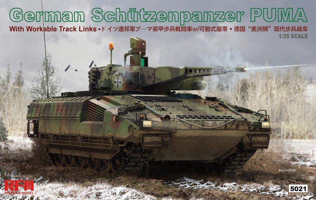 News RFM German Schützenpanzer Puma Rye Field Model - Nr. RM-5021 - 1:35 Rye20f12