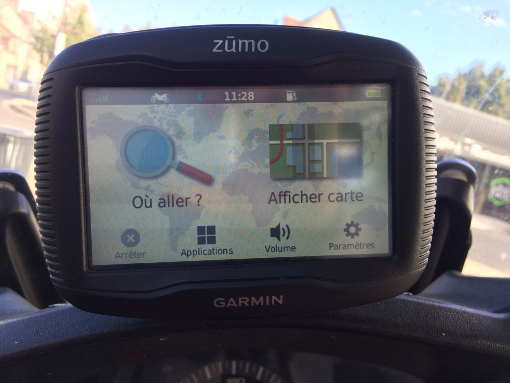 GPS Garmin Zumo 345 LM 250€ Img_2112