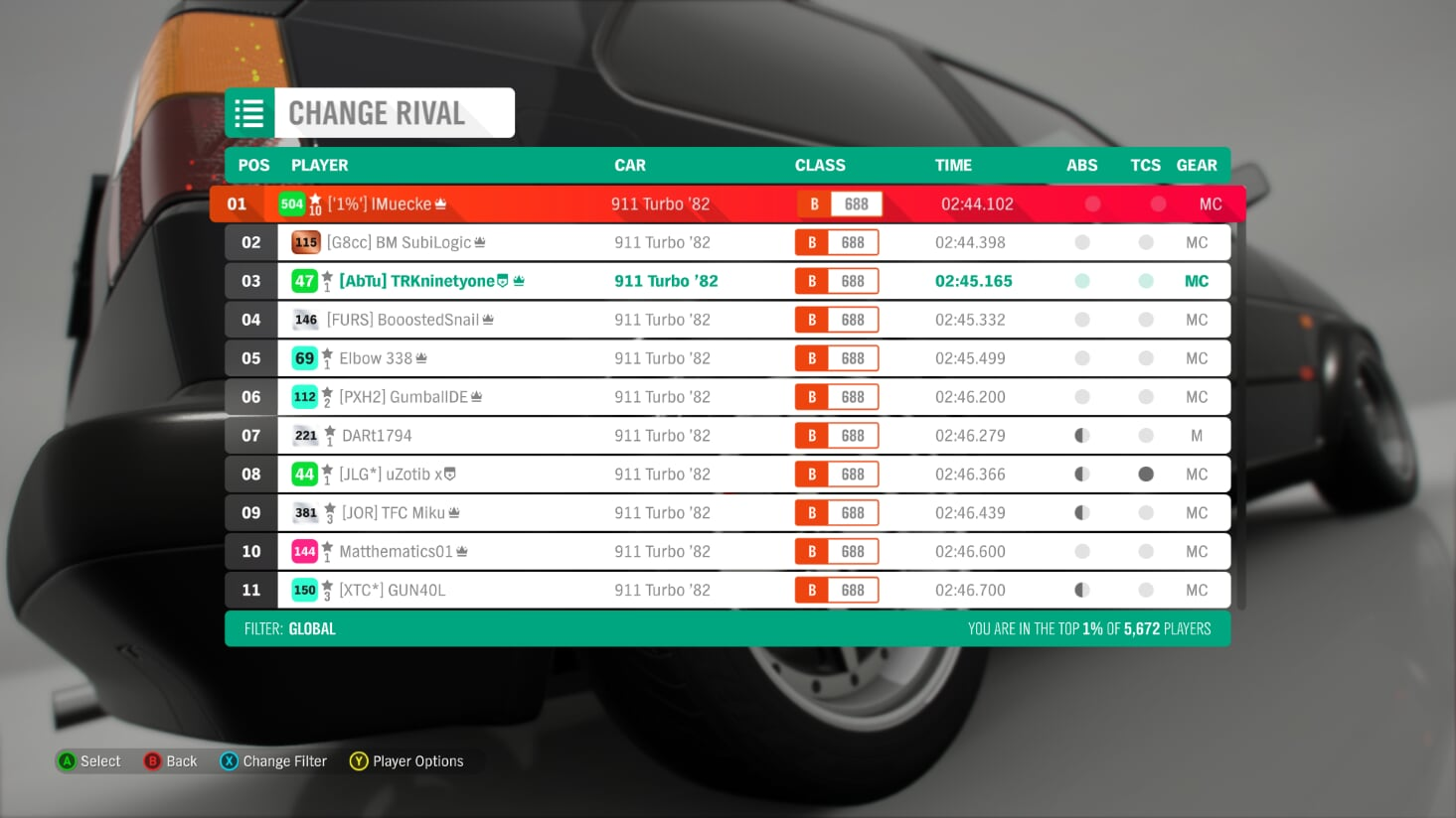 FH4 Time Attack | Dirt Racing Rivals - Holyrood Park Trail (911 Turbo '82) 2-7-2010