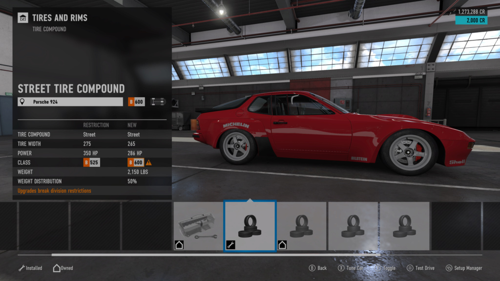 FM7 Time Attack | B Class (FWD/RWD/AWD) - Lime Rock South Chicane 8-11-210