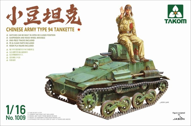 CHINESE ARMY TYPE 94 TANKETTE TAKOM 1/16 15711310