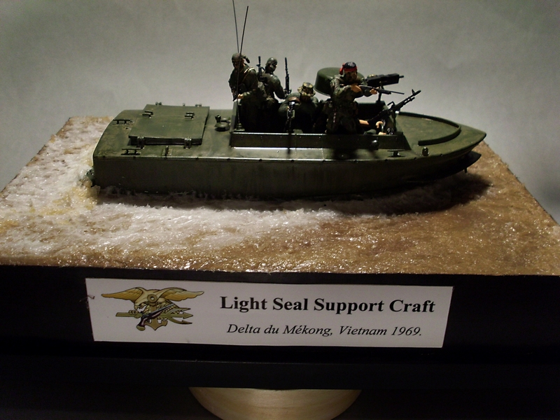 Light Seal Support Craft Dragon 1/35 Vietnam 1969 Sl370115