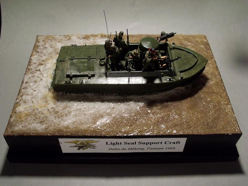 Light Seal Support Craft Dragon 1/35 Vietnam 1969 Sl370116