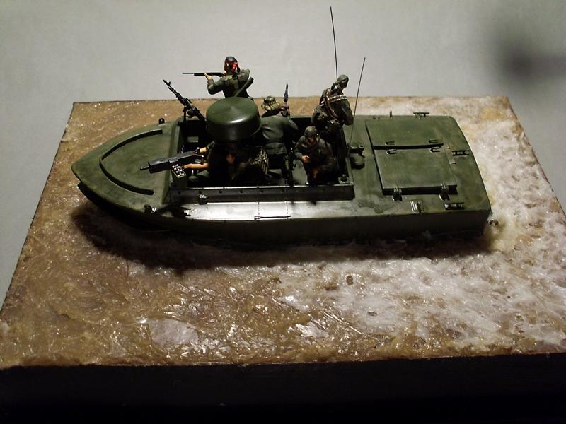 Light Seal Support Craft Dragon 1/35 Vietnam 1969 Sl370117