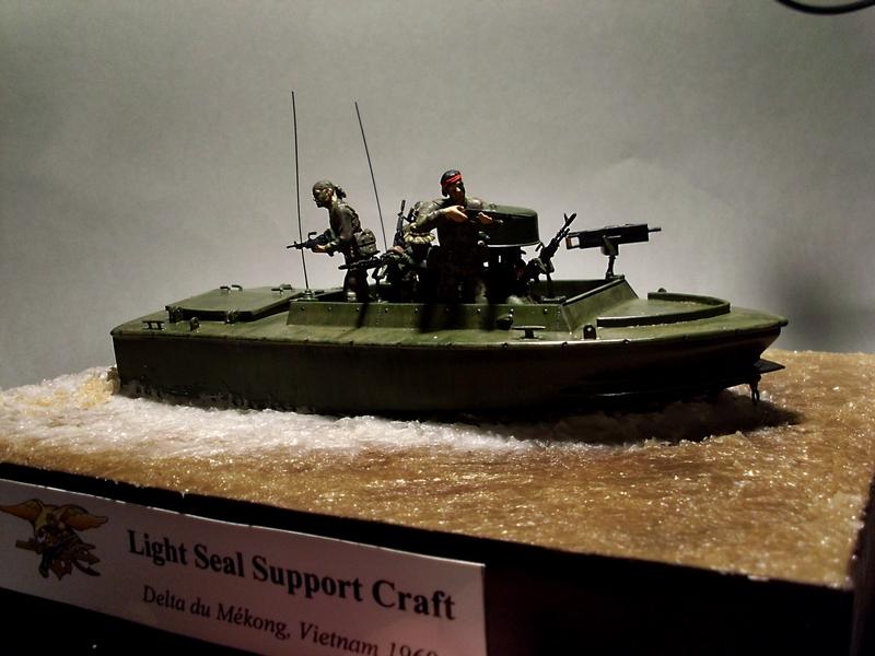 Light Seal Support Craft Dragon 1/35 Vietnam 1969 Sl370118