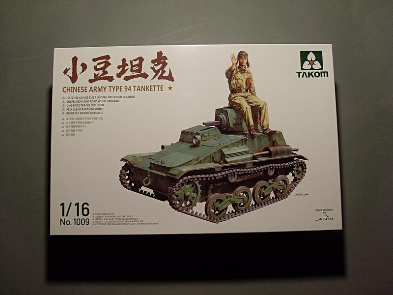 CHINESE ARMY TYPE 94 TANKETTE TAKOM 1/16 Sl379810