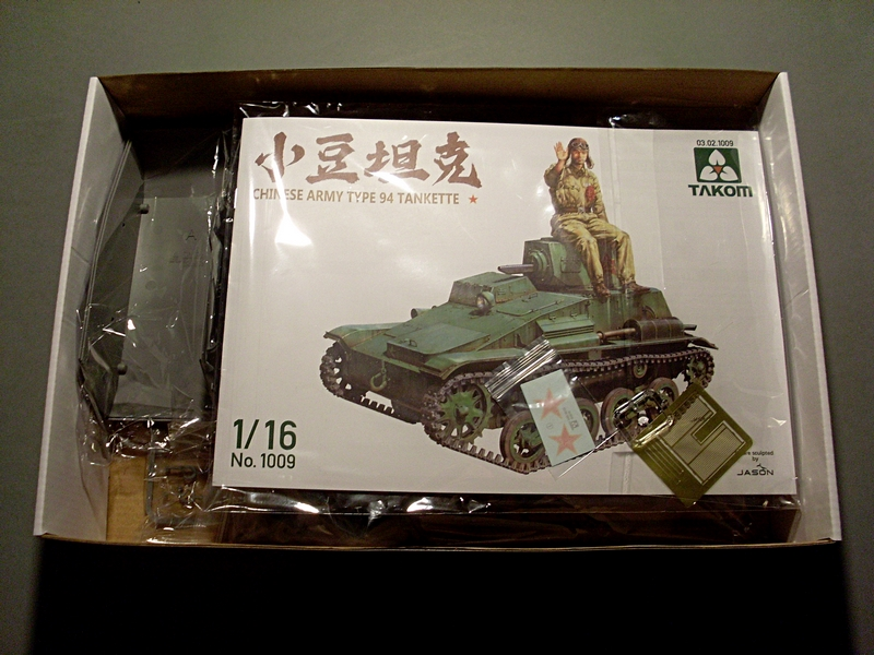 CHINESE ARMY TYPE 94 TANKETTE TAKOM 1/16 Sl379811