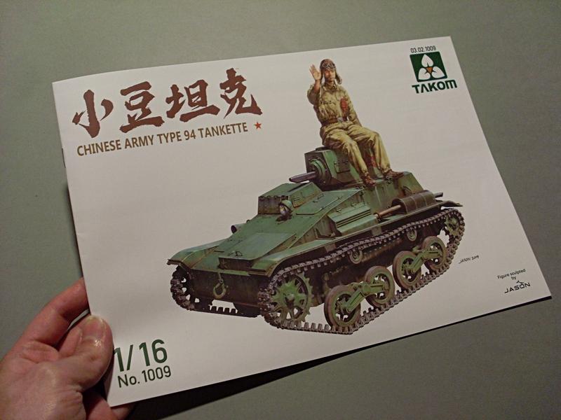 CHINESE ARMY TYPE 94 TANKETTE TAKOM 1/16 Sl379924