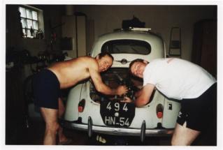 Restauration d'une Renault 4CV 1960 1er_es11