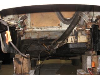Restauration d'une Renault 4CV 1960 2210