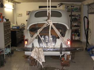 Restauration d'une Renault 4CV 1960 2310