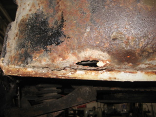 Restauration d'une Renault 4CV 1960 2710