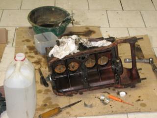 Restauration d'une Renault 4CV 1960 911