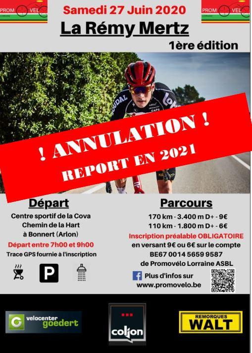 "Annulation de la ""Rémy Mertz"" du 27 juin 2020 Rm1-an10"