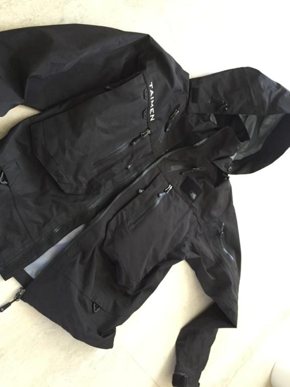 [vendo]nuova giacca da wading taimen PIRATE BLACK 7a8dc110