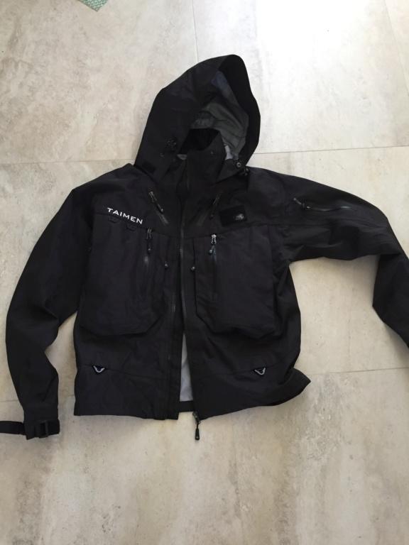 [vendo]nuova giacca da wading taimen PIRATE BLACK F87d2d10