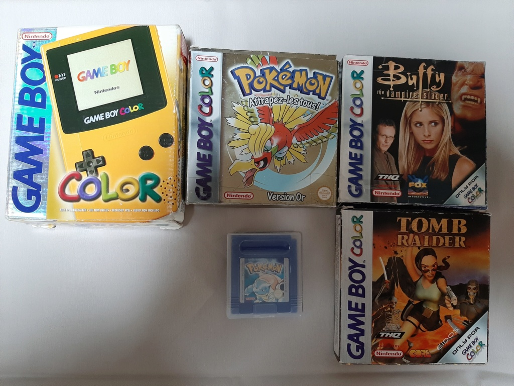 Collection Gameboy 20200414