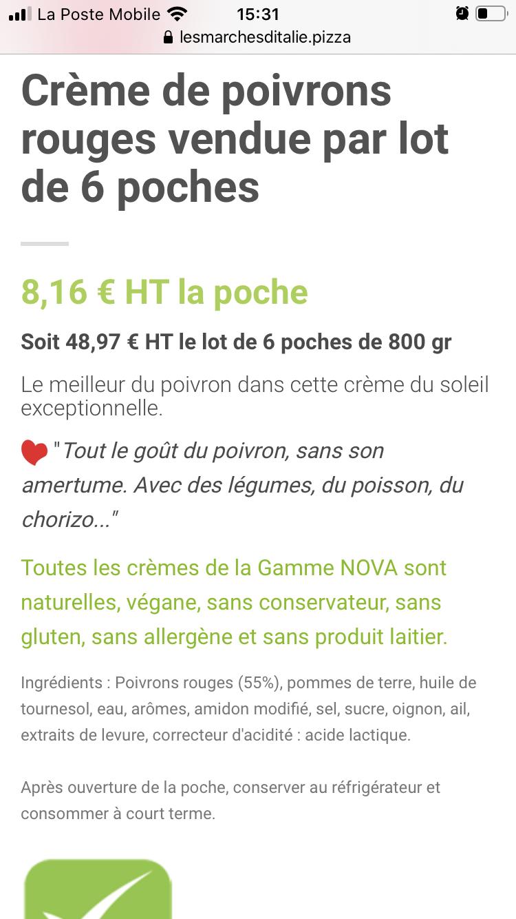 Crème de poivron maison  D025e510