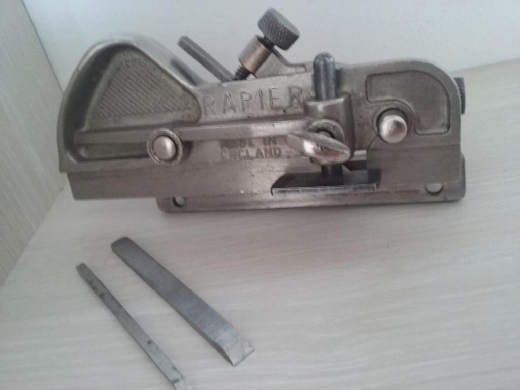 Antiga Plaina Manual Plough , Rapier 043 Com 3 Lâminas 20180910