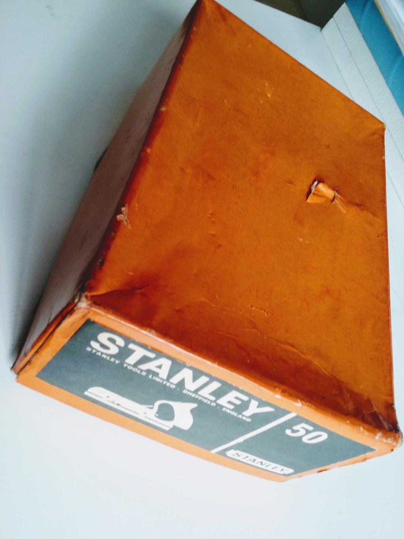 Antiga Plaina Stanley No. 50 - completa com caixa 20181122