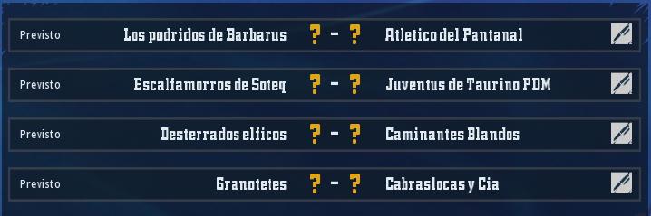 Campeonato Piel de Minotauro 10 - Grupo 4 / Jornada 2 - hasta el domingo 1 de marzo Ronda_10