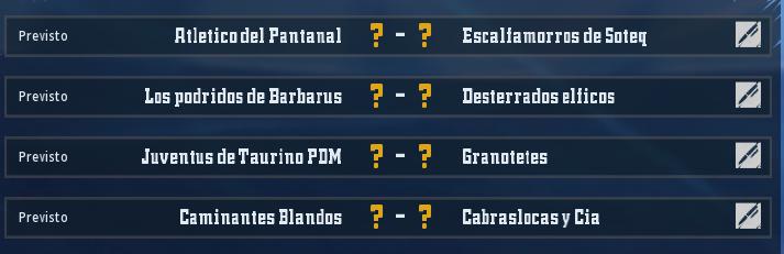 Campeonato Piel de Minotauro 10 - Grupo 4 / Jornada 3 - hasta el domingo 8 de marzo Ronda_11