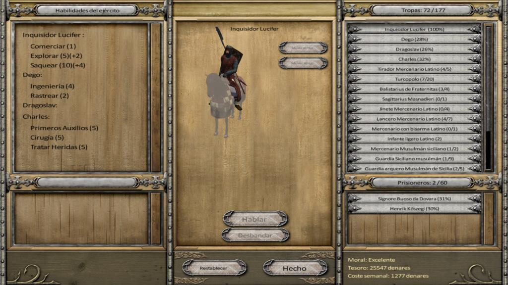 Anno Domini 125,  Bug con los caballos de guerra del Reino de hungria D; que parche o ese bug de textura nunca lo arreglaron????  Bugann10