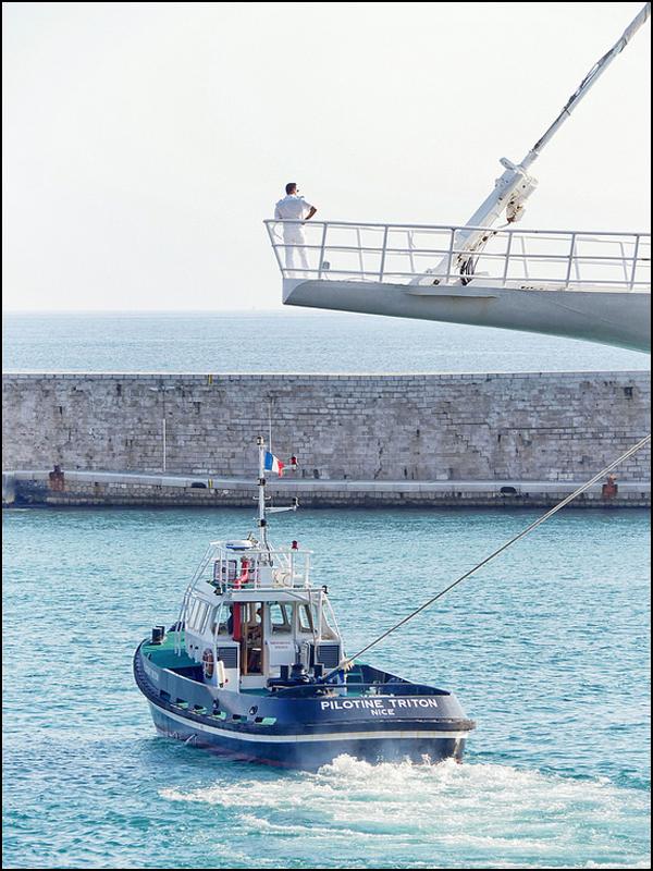 """"""" l'homme et son bateau """" 43610410"""