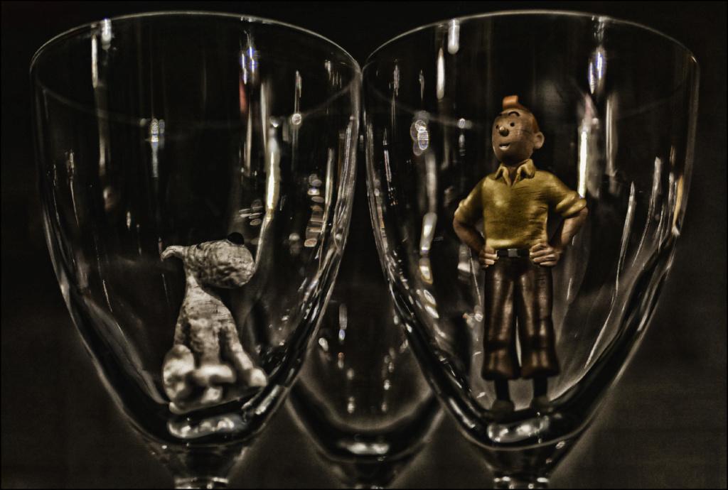 """Piège de Cristal"" un inédit de Tintin & Milou Img_510"