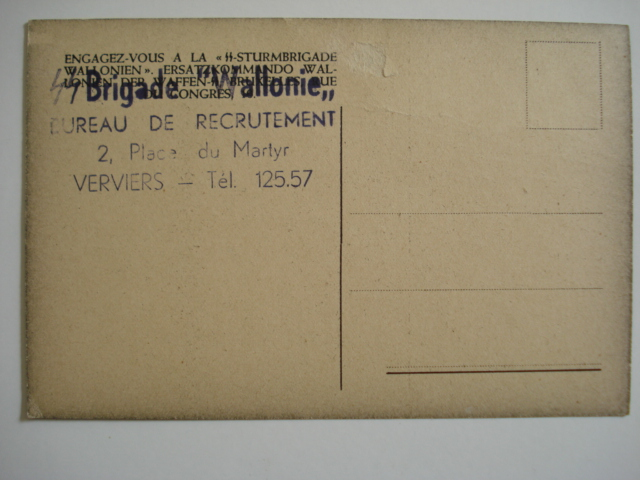 carte postal REX/ Division Wallonie Dsc03410