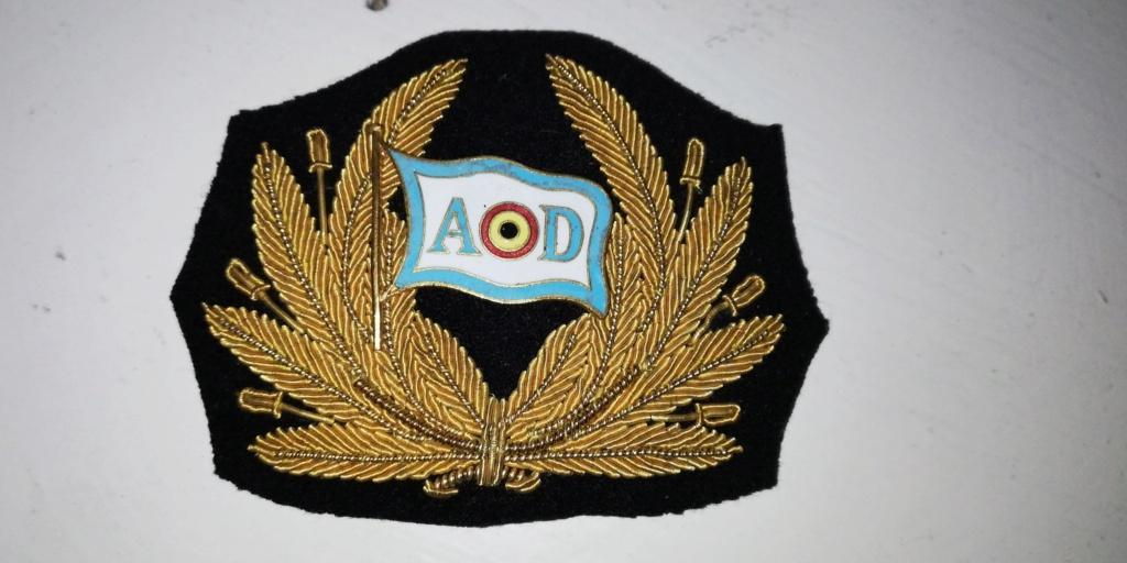 "Identification cocarde casquette époque "" congo belge "" Img_2555"