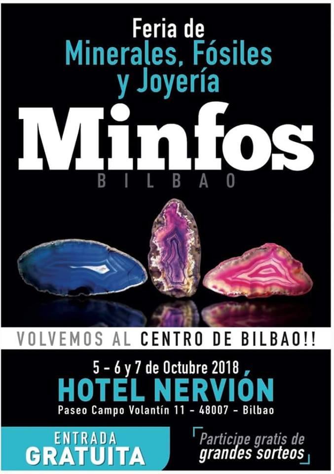 Minfos La nuevaferia de Fosiles y minerales de Bilbao Minfos10
