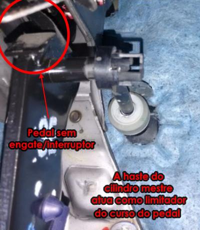 Uma solução para a provável fadiga na haste ou cilindro mestre da embreagem A10