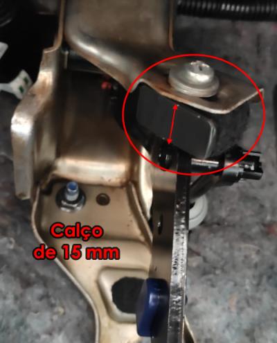 Uma solução para a provável fadiga na haste ou cilindro mestre da embreagem E10