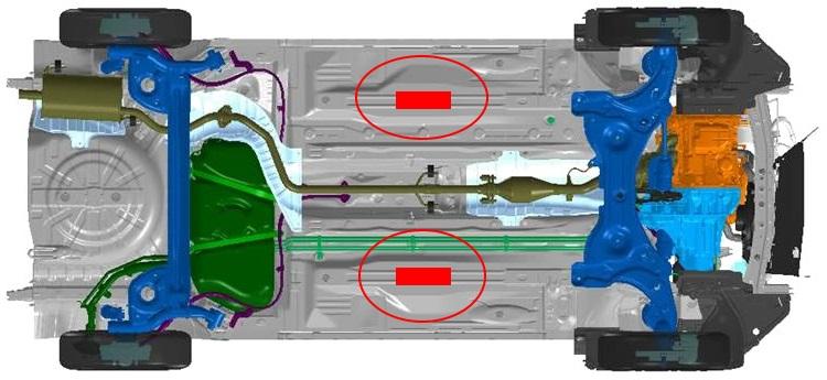 Infiltração de água da chuva Nissan10